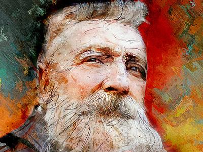 Le sculpteur Rodin