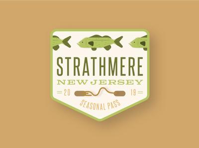 Strathmere Beach Tag