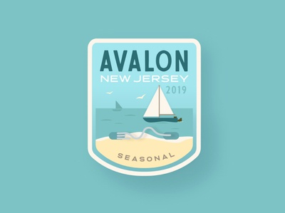 Avalon Beach Tag