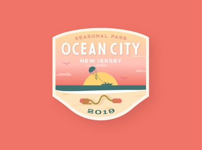 Ocean City Beach Tag