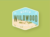 Wildwood Crest Beach Tag