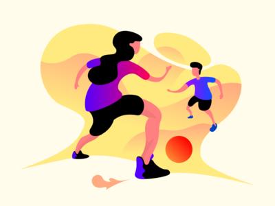 Sport dynamic soccer sport design graphic vector illustration