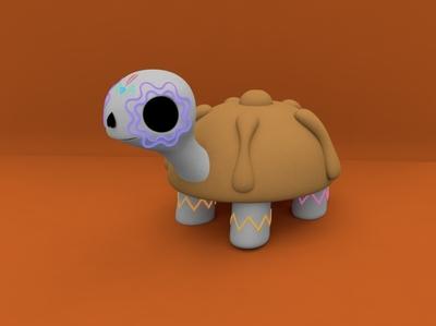tortuga de muerto