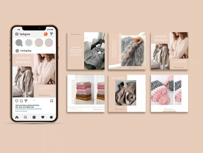 Design instagram visual page design
