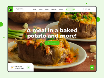 Spectacular Tubers Website Design
