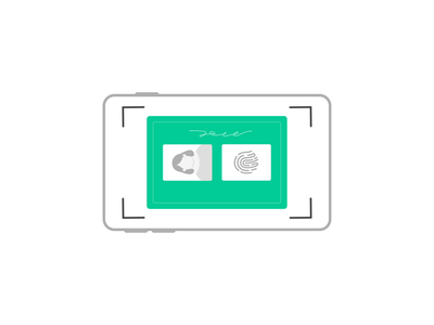 zoom onboarding app product vector illustration ux ui zoom taking picture brasil photo id