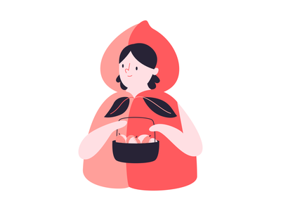 peaches fruit peach girl design vector illustration