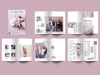 Ceramic magazine layout