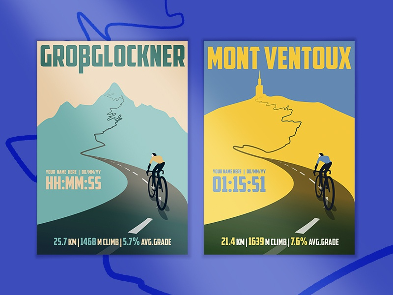 Cycling Climb prints poster cycling adobe illustrator vector illustration illustrator graphic design design