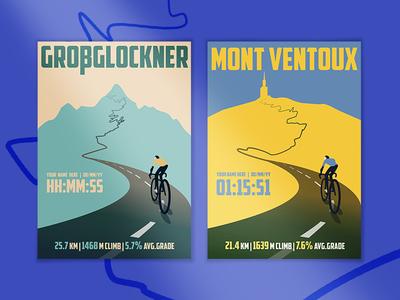 Cycling Climb prints