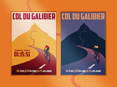Cycling Climbs posters