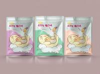 Packaging for Korean snacks
