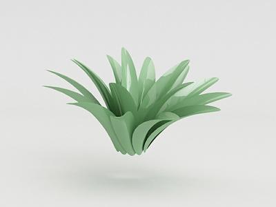 Agave flower charachter design 3d animation 3d artist 3d art 3d illustration design animacion diseño ilustracion