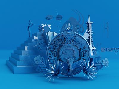 Soumaya publicidad publicity charachter design diseño design agency desig ilustracion illustraiton 3d animation 3d artist 3d art 3d