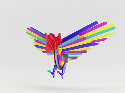 Gargola-Alebrije illustration art ilustración concept character art characer publicidad publicity animation animación 3d animation 3d bottle 3d artist 3d art 3d design art desig