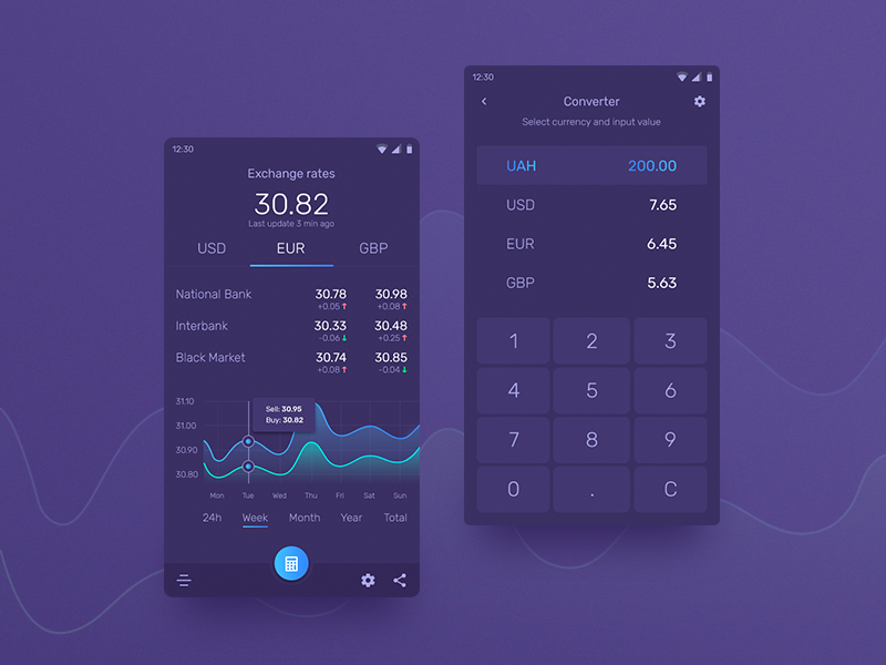 Hello Dribbble!!! dark modern hello currency web design mobile app converter exchange ux ui