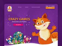 CrazyKoko Landing Page
