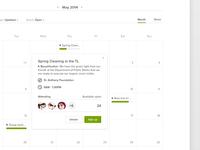Hackathon: Volunteering calendar