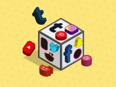 Social Media Puzzle Box