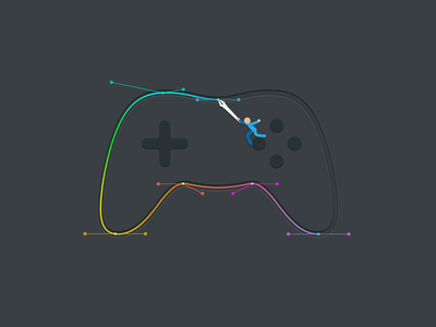Bezier Game Controller
