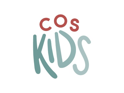 COS Kids Logo branding brand design logo
