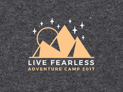 Adventure Camp Shirt mountain shirt branding brand design logo