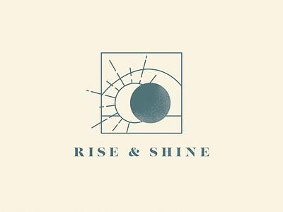 Rise & Shine sun stone bright spring easter bunny easter eggs resurrection jesus easter sunday easter