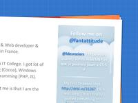 Fantattitude v4 second page
