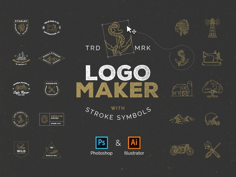 Logo Maker By Victor Barac Dribbble