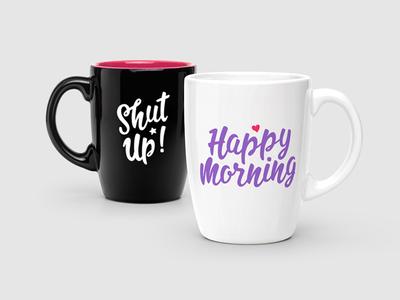 Mug design woman girl tshirt letter feminine design bag typography type typeface font