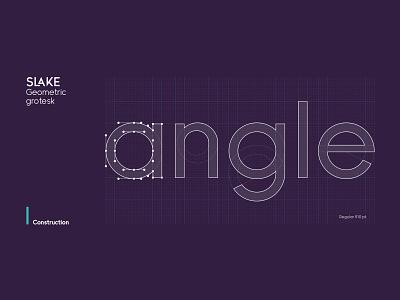 Typeface construction branding vector lettering design logo letter typeface type font typography