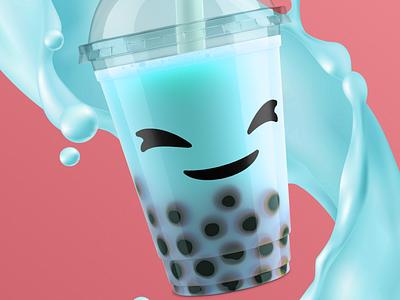 Shenzhen Bubble Tea | Identity illustration vector branding visual identity design mascot graphic design brand identity logo