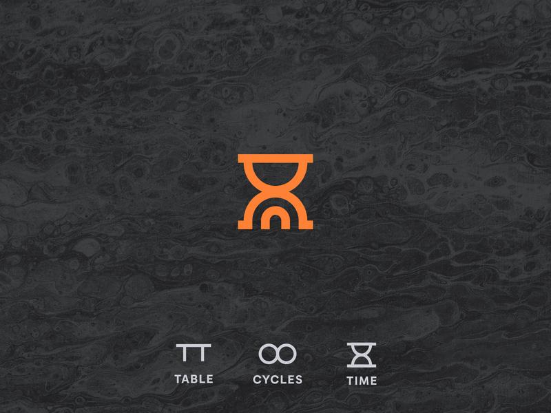 Madeiras Polidas | Logo craft logo design logodesign table time cycles woodworking wood icon visual identity vector logo illustration graphic design design brand identity