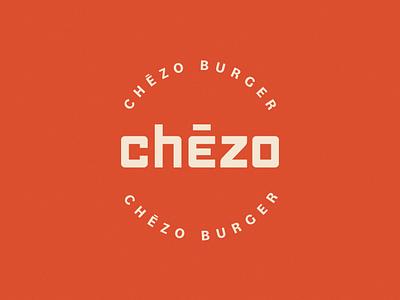 Chēzo Burger visual  identity identity restaurant app food logo food craft burger logo burger logodesign vector branding logo graphic design design brand identity