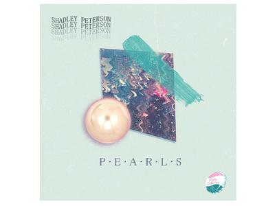 shadely peterson pearls album art design illustration illustrator photoshop cover design album cover art