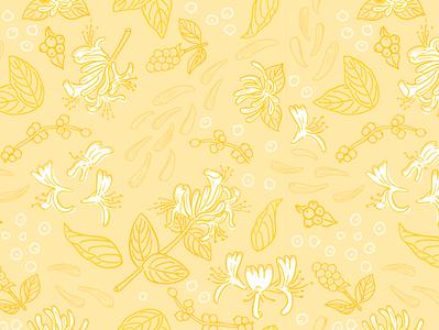 Floral drawing illustrated pattern floral design illustration pattern