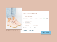 Credit Card Checkout #DailyUi 002