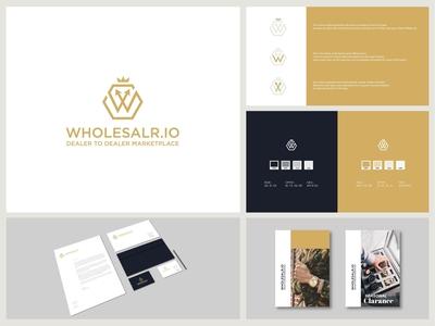 Wholesalr io Brand Identity 01