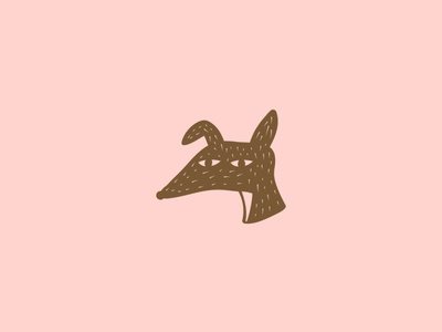 Colmillo Roto Icon design branding icon design icon dog