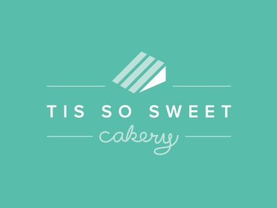 Tis So Sweet Cakery Logo