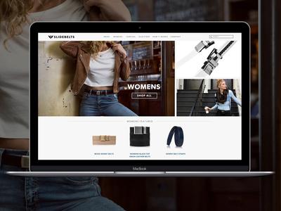 Women's Landing Page website web design web uiux ui product page layout design layout landing page interactive ecommerce apparel