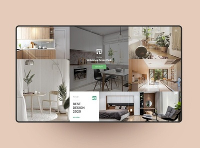 THIEN INTERIOR - Page Project grahic furniture interior webdesign uiux ui