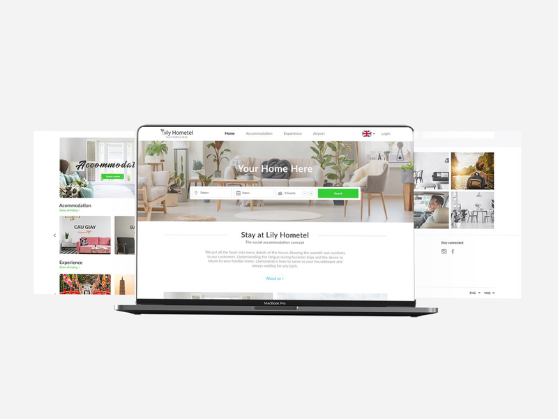 Dribbble Post website design macbookpro uxui