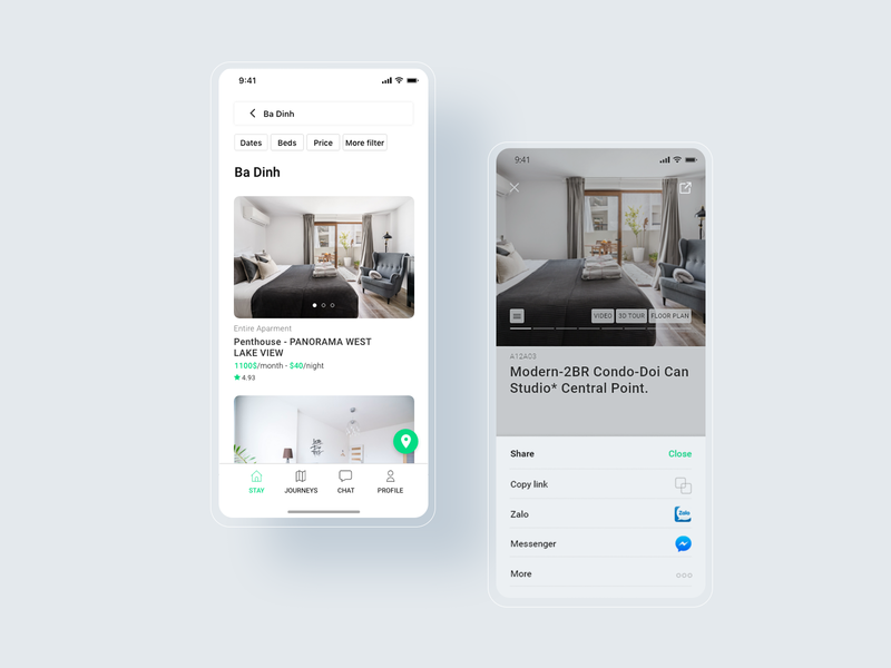 Lilyhomtel_Apartment detail homestay hotel booking hotel app uiux ui
