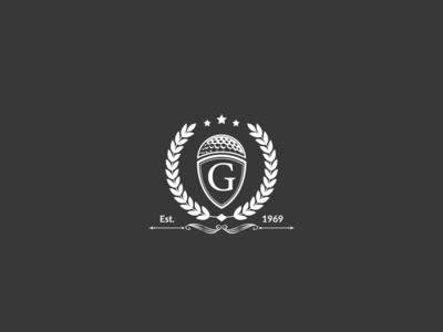 Golf g letter  logo