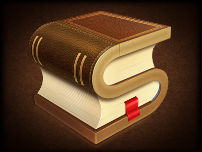 Stanza book reading stanza paper leather vintage old bookmark texture ios application reader