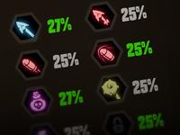 Skills icons