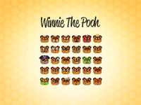 (Russian) Winnie the Pooh emoticons
