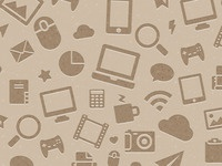 Icons Pattern