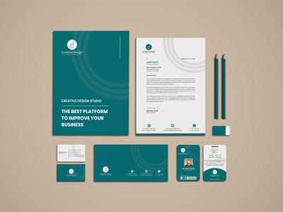 Corporate Branding Stationery
